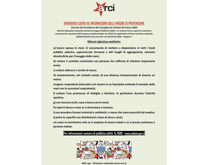 villa5 - avviso - COVID-19